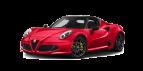 Location Alfa Romeo 4C est disponible chez Medousa car